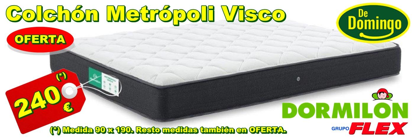 Colchón Dormilón Metrópoli Visco en OFERTA